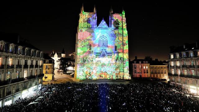 Nantes cathédrale Noël