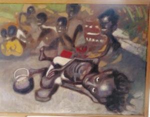 Peinture de J-M Blandin