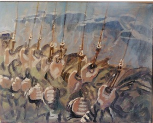 Tableau peint par Jm. Blandin