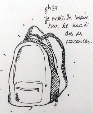 Le sac des vacances est un sauveur