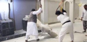 Photo obs. Destruction reliques Mossoul