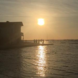 Coucher de soleil maritime